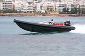 26 ft. KFR 8 RIb Boat Boat Rental Mikonos Image 7
