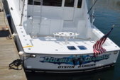 58 ft. Viking 57 Convertible Offshore Sport Fishing Boat Rental Boston Image 7