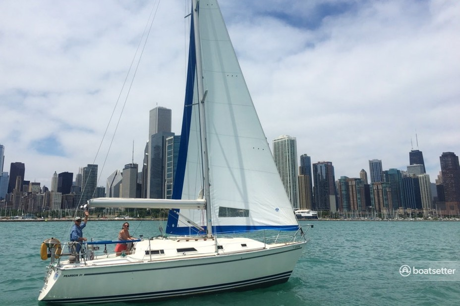 Rent a Pearson sloop in Chicago, IL near me