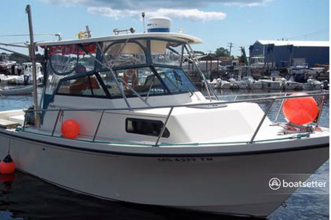 Rent a Parker offshore sport fishing in Essex, MA near me