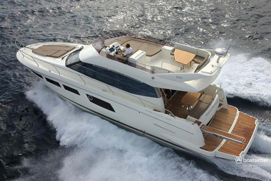 Rent a Prestige motor yacht in null, AL near me