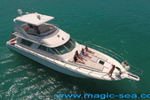 55 ft. Sea Ray Sedan Bridge Boat Rental Cancun Image 4
