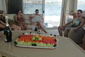 55 ft. Sea Ray Sedan Bridge Boat Rental Cancun Image 6