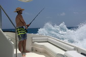 55 ft. Sea Ray Sedan Bridge Boat Rental Cancun Image 8