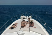 55 ft. Sea Ray Sedan Bridge Boat Rental Cancun Image 9