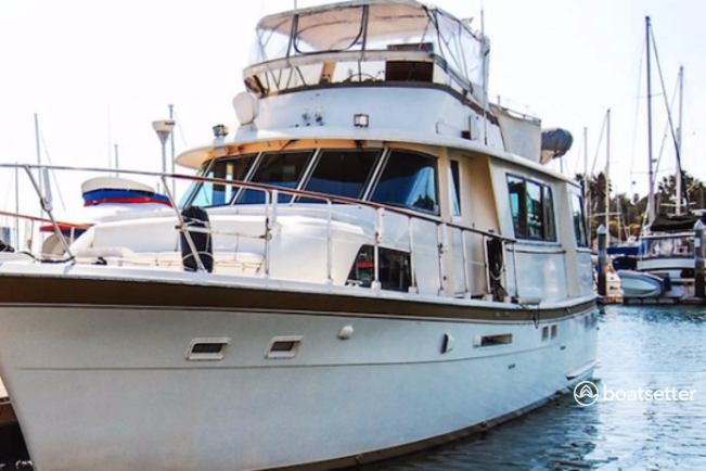 Rent a Hatteras motor yacht in Los Angeles, CA near me