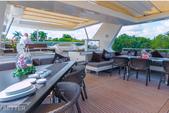 105 ft. Azimut 105 Motor Yacht Boat Rental Miami Image 7