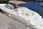28 ft. Sea Ray Open Bow Bow Rider Boat Rental West Palm Beach  Image 4