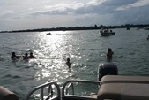 21 ft. Sun Tracker 21 Party Barge Pontoon Boat Rental Miami Image 1