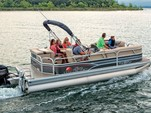 21 ft. Sun Tracker 21 Party Barge Pontoon Boat Rental Miami Image 4