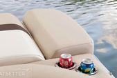 21 ft. Sun Tracker 21 Party Barge Pontoon Boat Rental Miami Image 9