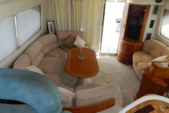 30 ft. Azimut 46 Motor Yacht Boat Rental Cancun Image 2
