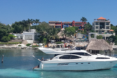 30 ft. Azimut 46 Motor Yacht Boat Rental Cancun Image 4
