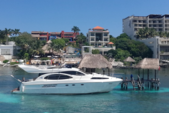 30 ft. Azimut 46 Motor Yacht Boat Rental Cancun Image 7