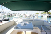 48 ft. Azimut Flybridge Motor Yacht Boat Rental Miami Image 5