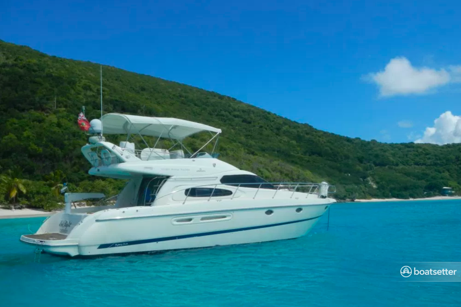 Rent a Cranchi motor yacht in Road Town, Tortola near me