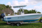 24 ft. Bluewater 2150 Center Console Boat Rental West Palm Beach  Image 1