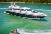 101 ft. Leopard Cantieri Dell Arno Motor Yacht Boat Rental Miami Image 3