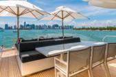 101 ft. Leopard Cantieri Dell Arno Motor Yacht Boat Rental Miami Image 6