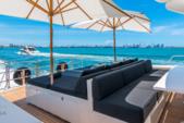 101 ft. Leopard Cantieri Dell Arno Motor Yacht Boat Rental Miami Image 7