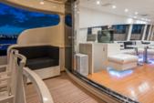 101 ft. Leopard Cantieri Dell Arno Motor Yacht Boat Rental Miami Image 12