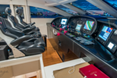 101 ft. Leopard Cantieri Dell Arno Motor Yacht Boat Rental Miami Image 13
