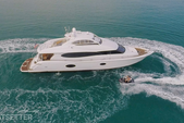 84 ft. Lazzara 84 Boat Rental Miami Image 1