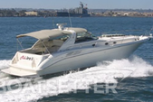 50 ft. Sea Ray 450 Sundancer Motor Yacht Boat Rental San Diego Image 5