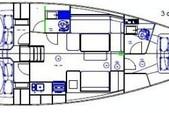 41 ft. Dufour D410 Grand Large Catamaran Boat Rental Reggio Calabria Image 9