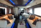 85 ft. Azimut 85 Motor Yacht Boat Rental Cancún Image 2