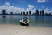 18 ft. Sugar Sand Mirage Jet Boat Boat Rental Miami Image 2