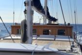 95 ft. Aegean Yacht Builders Ketch Sloop Boat Rental Bonifacio Image 3