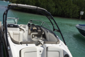 24 ft. Yamaha 242 Limited S Bow Rider Boat Rental Miami Image 2