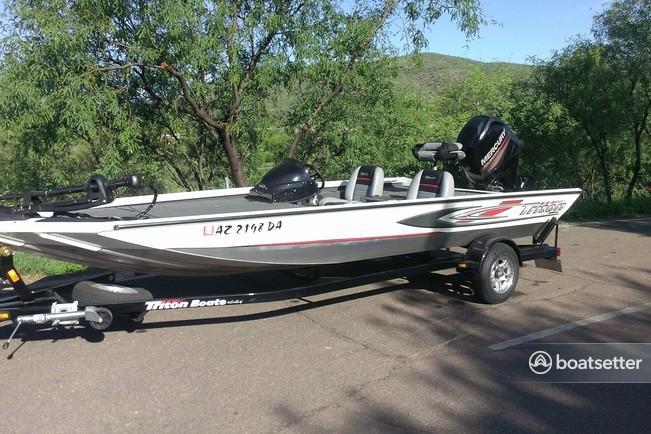 Rent a Triton bass boat in Sierra Vista, AZ near me