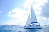 48 ft. Catamaran Cruisers Aqua Cruiser Catamaran Boat Rental Cancún Image 1