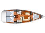 39 ft. Jeanneau Sailboats Sun Odyssey 39i Cruiser Boat Rental Alacant Image 4