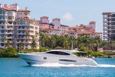75 ft. Lazzara Lsx 75 Motor Yacht Boat Rental Miami Image 9