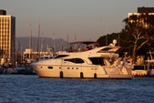 62 ft. Feretti 620 Cruiser Boat Rental Los Angeles Image 11
