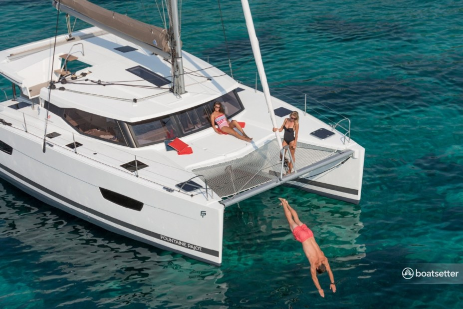 Rent a Fountaine Pajot catamaran in Key West, FL near me