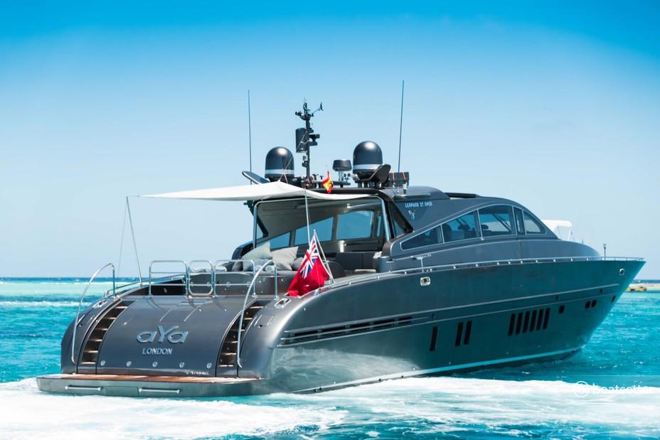 Rent a Leopard motor yacht in Eivissa, PM near me