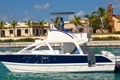 34 ft. Catamaran Cruiser 3400 fun cat Bow Rider Boat Rental Punta Cana Image 1