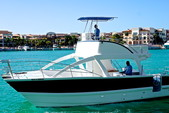 34 ft. Catamaran Cruiser 3400 fun cat Bow Rider Boat Rental Punta Cana Image 2