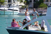 34 ft. Catamaran Cruiser 3400 fun cat Bow Rider Boat Rental Punta Cana Image 6