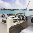 26 ft. Bayliner 2659 Rendezvous Bow Rider Boat Rental Miami Image 12