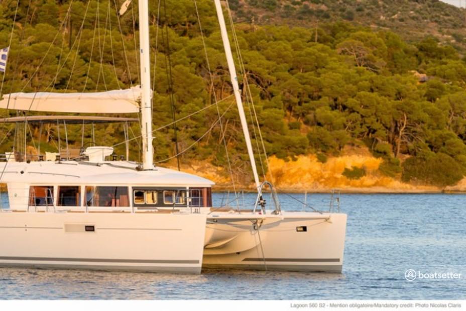 Rent a Lagoon Boats catamaran in Parham Town, null near me