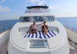 78 ft. Mochi Craft 78 Motor Yacht Boat Rental Barcelona Image 11