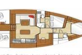 50 ft. Beneteau USA Sense 50 Sloop Boat Rental San Francisco Image 9
