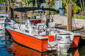 21 ft. Robalo 2120 Center Console w/225HP Merc Center Console Boat Rental Miami Image 2