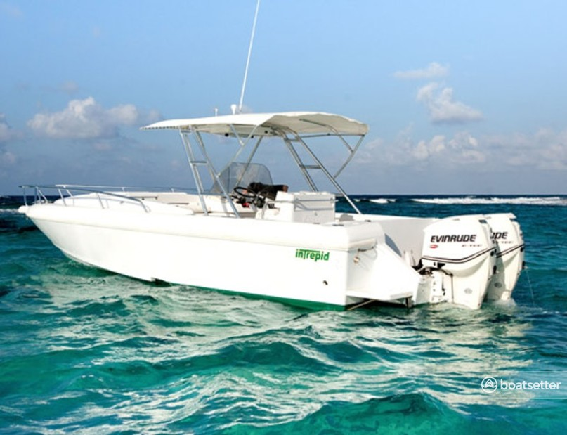 Rent a Intrepid Powerboats center console in George Town, George Town near me