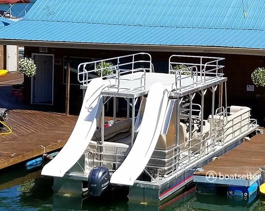 Rent a Solid Craft pontoon in Sutton, WV near me